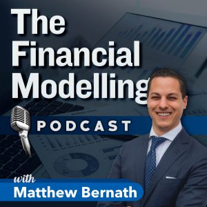 Matthew Bernath's Financial Modelling Podcast Logo